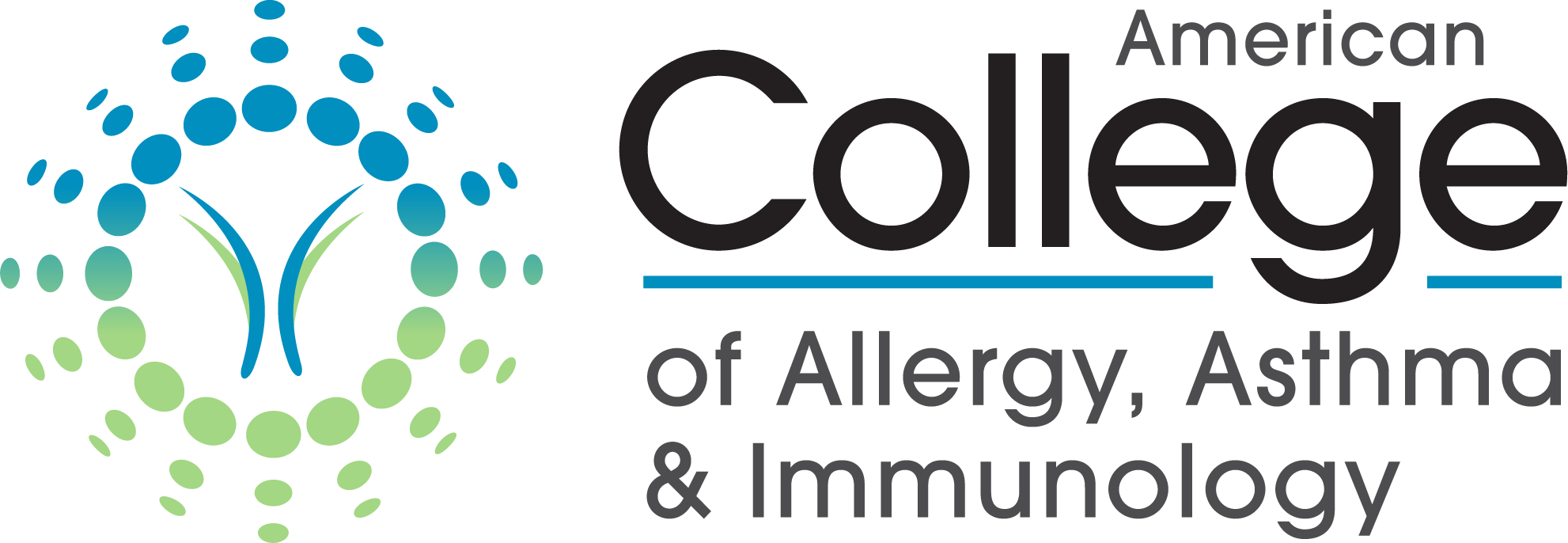 American College of Allergy, Asthma, & Immunology logo