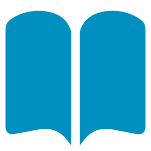 Publications icon of a book
