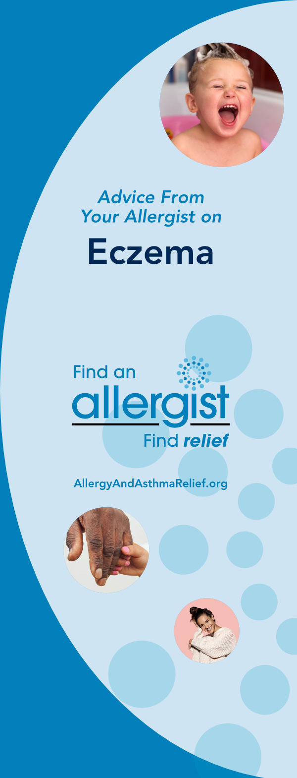 thumbnail cover of the ACAAI Eczema brochure